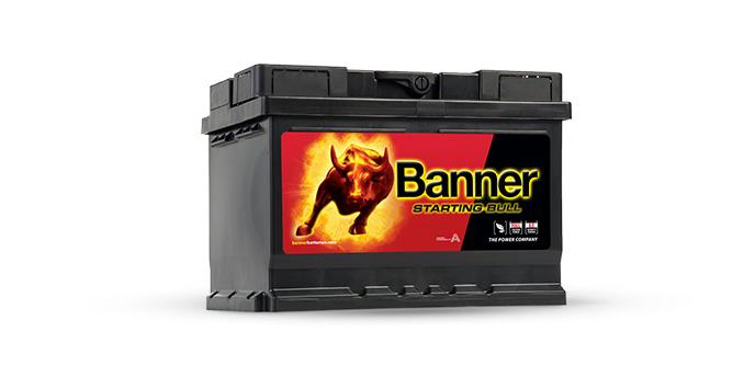Akumulatory Banner Starting Bull